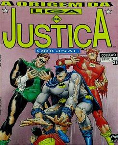 Nova Sampa Coleção Invictus #31 A Origem da Liga da Justiça Original