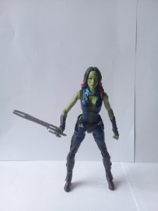 Marvel Legends Gamora Loose