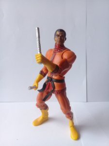 Dc Universe Tigre de Bronze com Bastões Loose