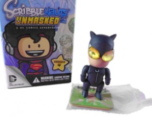 DC Collectibles Scribblenauts Unmasked Catwoman (Mulher Gato) Series 4