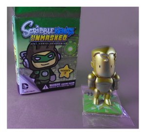 DC Collectibles Scribblenauts Unmasked Super-Homem (Superman) Gold Series 1
