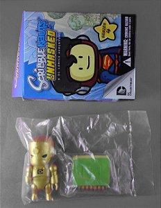 DC Collectibles Scribblenauts Unmasked Cyborg Dourado Series 4