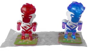 DC Collectibles Scribblenauts Unmasked Super-Homem Red & Blue Loose