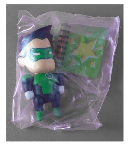 DC Collectibles Scribblenauts Unmasked Lanterna Verde Kyle Ryner Loose
