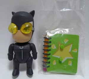 DC Collectibles Scribblenauts Unmasked Catwoman (Mulher Gato) Loose
