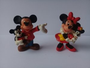 Applause Disney Mickey e Minnie com Filhos