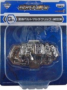 Ichiban Kuji Kamen Rider Fourze Belt / Clip de metal para guardar dinheiro
