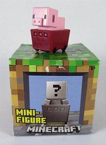 Mattel Minecraft Mini-Figure - Pig in Minecart