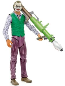 Mattel Batman TDK The Joker (Coringa) With Missile Launcher