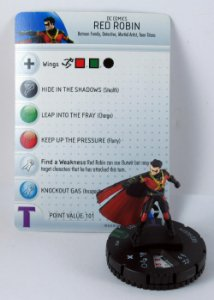 Heroclix Batman Red Robin #018