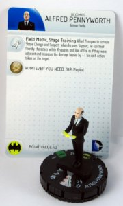 Heroclix Batman Family Alfred Pennyworth #031