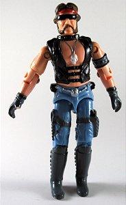 Hasbro 1984 G.I.Joe Comandos em Ação Gijoe Dreadnock Torch (V1) Figure