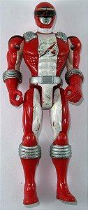 Bandai 2006 Boukenger/ Power Rangers Overdrive  - Bouken Red / Ranger Vermelho