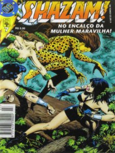 Abril DC Shazam! #7 No Encalço da Mulher-Maravilha