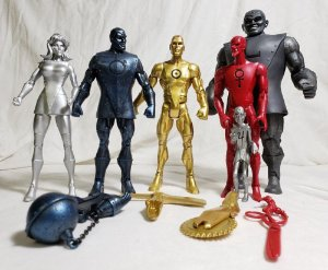 DC Universe Classics The Metal Men (Homens Metálicos)