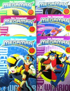 Megaman NNT Warrior Completo - 06 edições Conrad