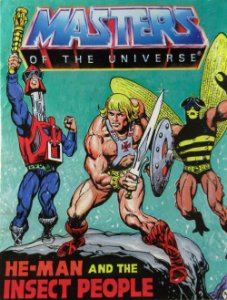 Masters Of The universe (Motu) He-Man And The Insect People Importado