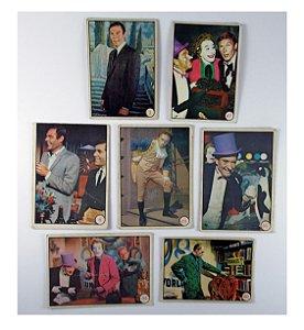 Conjunto de Cards DC Batman Adam West 1966 Vintage