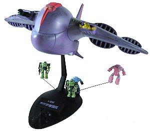 Bandai Gundam ACA-01 Gaw - Nave De Transporte 1/1200 Model Kit