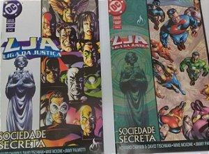 LJA Liga da Justiça Sociedade Secreta - Ed. Mythos