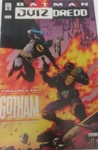 Batman Juiz Dredd Vingança em Gotham - Ed. Abril