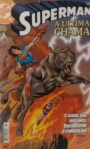 Superman A Última Chama - Ed. Mythos