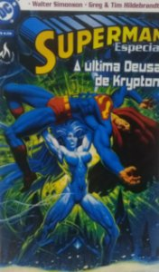 Superman A Última Deusa de Krypton - Ed. Mythos
