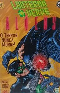 Lanterna Verde Aliens - Ed. Abril