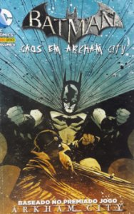 Batman Vol. 4 Caos em Arkham City - Ed. Panini