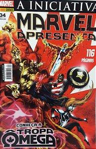 Marvel Apresenta #34 Tropa Omega - Ed. Panini