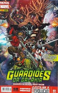 Guardiões da Galaxia #1 Nova Marvel - Ed. Panini