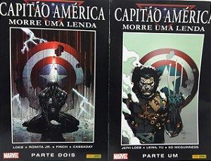Capitão America Morre Uma Lenda - Ed. Panini