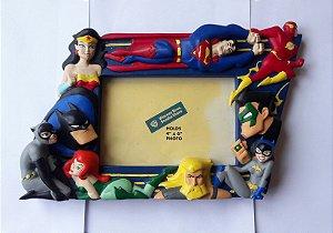 Porta Retrato 3-D Liga da Justiça - Exclusivo Warner Bros Store