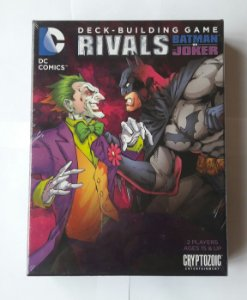 CARD GAME DECK-BUILDING GAME RIVALS BATMAN VS JOKER