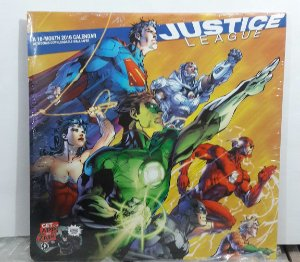 CALENDARIO 2016  JUSTICE LEAGUE ACTION