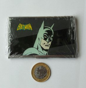 PORTA CARTÃO DE VISITAS BATMAN - METAL