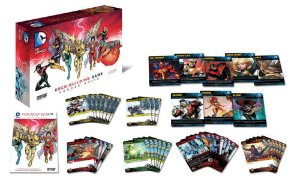 CARD GAME DC COMICS -DECK-BUILDING GAME - HEROES UNITE