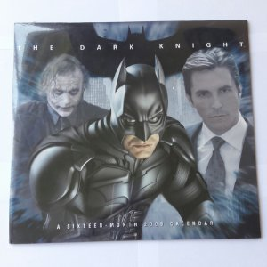 CALENDARIO 2009 - BATMAN THE DARK KNIGHT