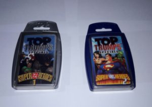 TOP TRUMPS SPECIAL DC COMICS - CARD GAME ESTILO SUPER TRUNFO