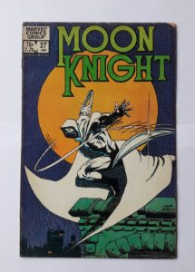 MOON KNIGHT #27 - CAPA FRANK MILLER - 1983 - Importada