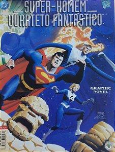 Super-Homem Quarteto Fantástico Ed. Abril