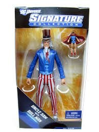Uncle Sam With Doll Man DC Universe Signature Collection