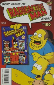 Radioactive Man #100 (Simpsons)  - Importada