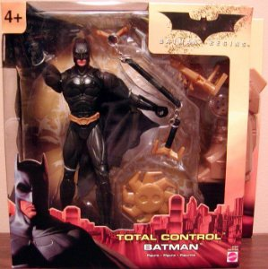Mattel Batman Begins Total Control Batman