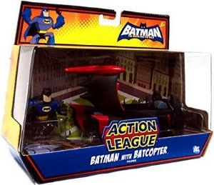 Action League Batman Com Batcoptero