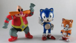 Sega 1994 Sonic The Hedgehog - Sonic, Tails e Robotnick Set com 03