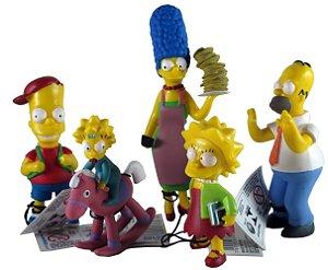 Fox Família Os Simpsons - Conjunto com 05
