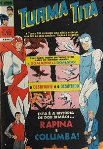 Turma Titã #26 Ebal 1970 O Herói 4a Série