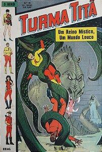 Turma Titã #36 Ebal 1971 O Herói 4a Série