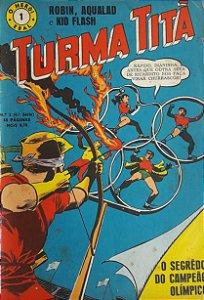 Turma Titã #1 Ebal 1968 O Herói 4a Série
